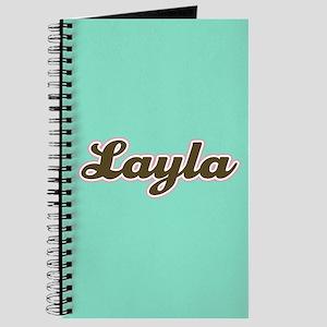 Layla Aqua Journal
