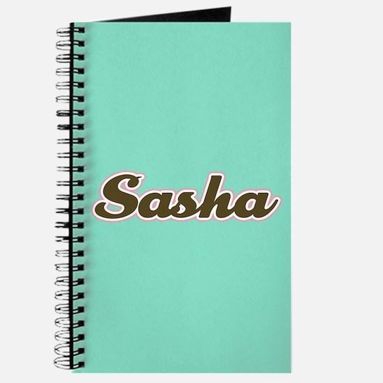 Sasha Aqua Journal