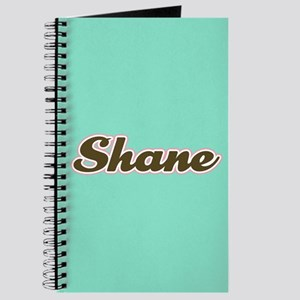 Shane Aqua Journal