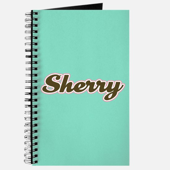 Sherry Aqua Journal