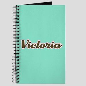 Victoria Aqua Journal