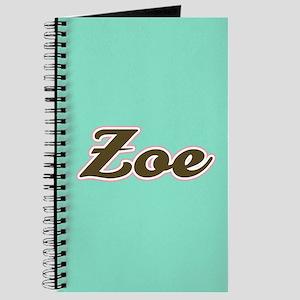 Zoe Aqua Journal