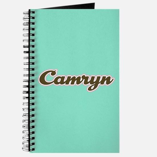 Camryn Aqua Journal