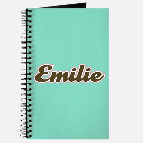 Emilie Aqua Journal