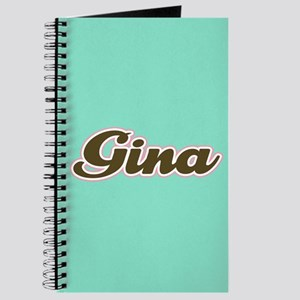 Gina Aqua Journal