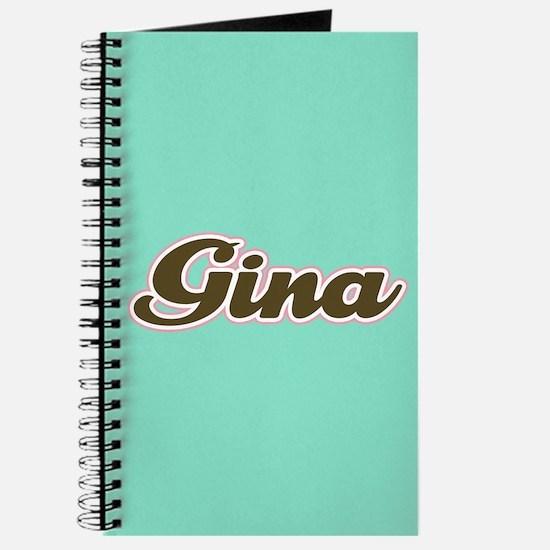 Gina Aqua Journal