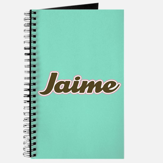 Jaime Aqua Journal