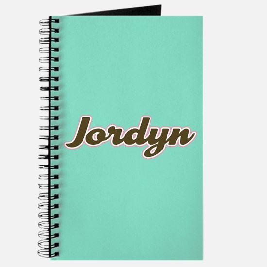 Jordyn Aqua Journal