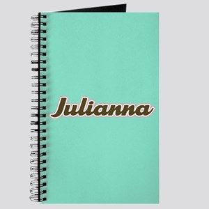 Julianna Aqua Journal