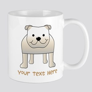 Bulldog and Text. Mug