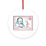 Galileo Galilei Christmas Ornament (Round)