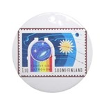 Observatory Christmas Tree Ornament (Round)