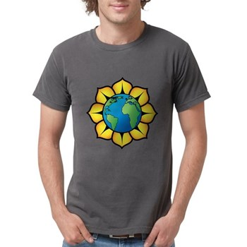 Blooming Earth Mens Comfort Colors Shirt