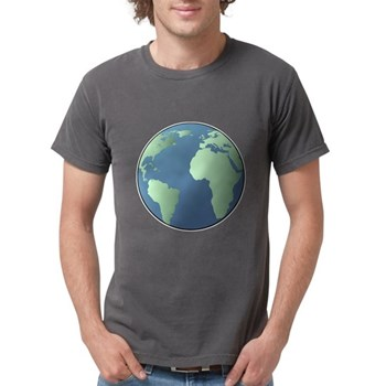 Planet Earth Mens Comfort Colors Shirt