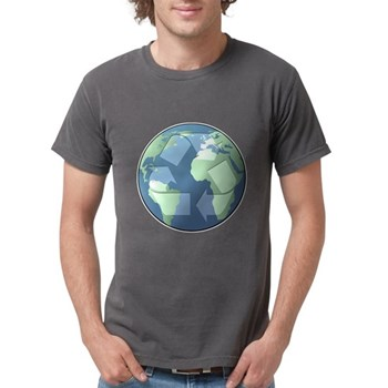 Planet Earth - Recycle Mens Comfort Colors Shirt