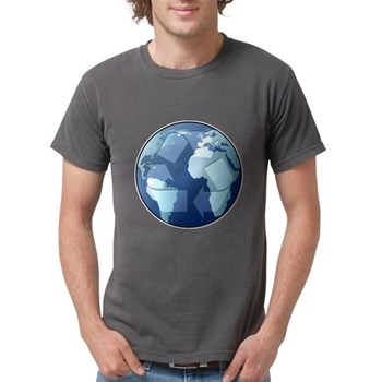 Blue Planet - Recycle Mens Comfort Colors Shirt