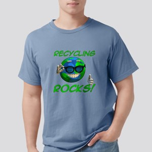 Recycling Rocks! Mens Comfort Colors Shirt