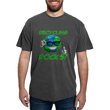 Recycling Rocks! Mens Comfort Colors Shirt