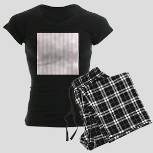 Shabby Pink White Stripes Pajamas
