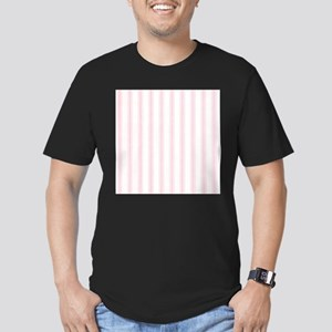 Shabby Pink White Stripes T-Shirt