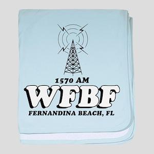 WFBF Fernandina Beach Vintage baby blanket