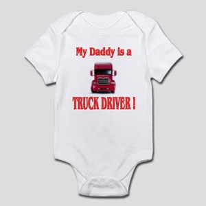 My Daddy is a truck driver Infant Creeper