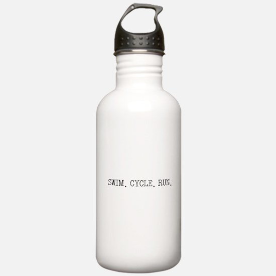 Swim Cycle Run Water Bottle