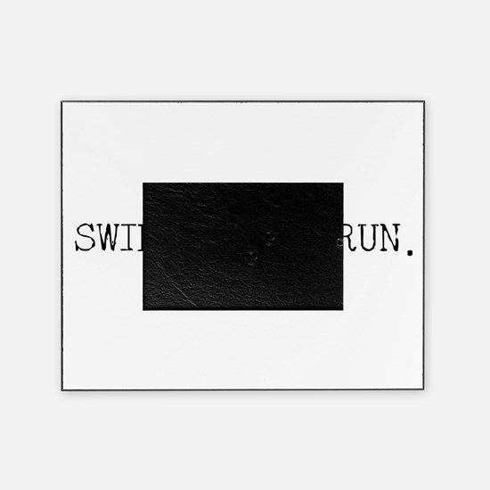Swim Cycle Run Picture Frame