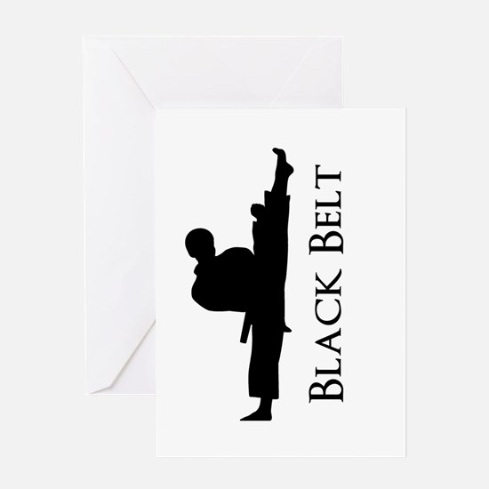 Martial Arts Party Invitation Greeting Cards