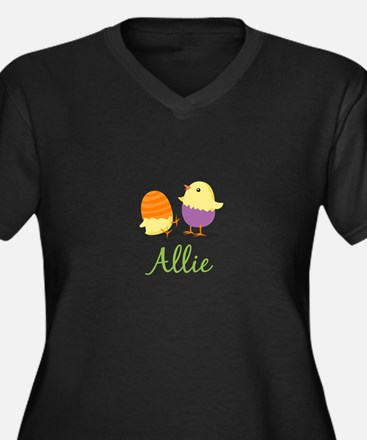 Easter Chick Allie Plus Size T-Shirt