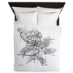 Punta Cana Bavaro Map Queen Duvet