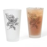 Punta Cana Bavaro Map Drinking Glass
