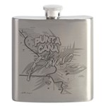 Punta Cana Bavaro Map Flask