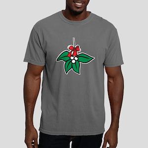 Christmas Mistletoe Mens Comfort Colors Shirt