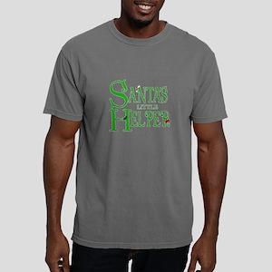 Santa's Little Helper Mens Comfort Colors Shirt