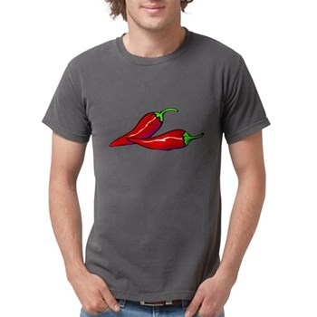Red Hot Peppers Mens Comfort Colors Shirt