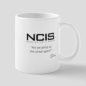 NCIS Ziva David Up the Street Mug