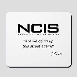 NCIS Ziva David Up the Street Mousepad