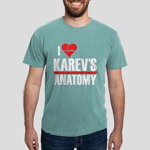 I Heart Karev's Anatomy Mens Comfort Colors Shirt