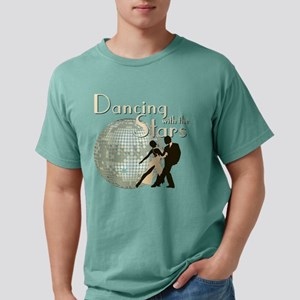 Retro Dancing with the Stars Mens Comfort Colors S