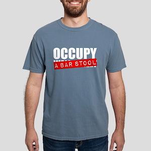 Occupy A Bar Stool Mens Comfort Colors Shirt