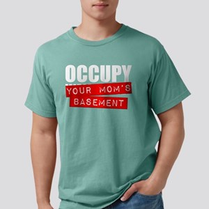 Occupy Your Mom's Basement Mens Comfort Colors Shi