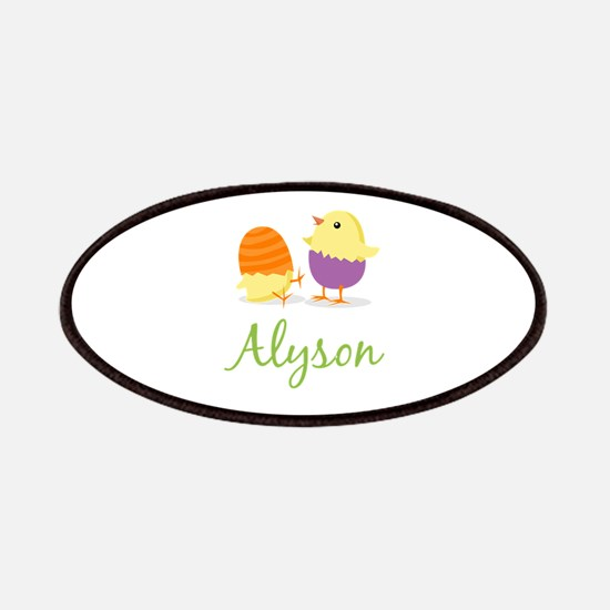 Easter Chick Alyson Patches