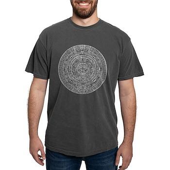 Aztec Sun Stone Calendar Mens Comfort Colors Shirt