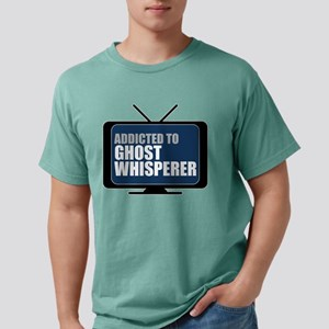 Addicted to Ghost Whisperer Mens Comfort Colors Sh