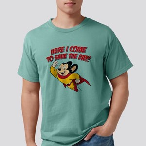 Here I Come to Save the Day Mens Comfort Colors Sh