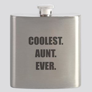 Coolest Aunt Ever Flask