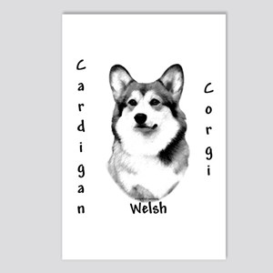 Cardigan Charcoal Postcards (Package of 8)