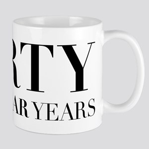 Forty The Cougar Years 11 oz Ceramic Mug