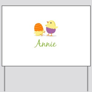 Easter Chick Annie Yard Sign